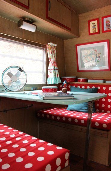 """Mia's """"Sweet Dreams"""" Log Cabin & Vintage Camper — House Tour   Apartment Therapy"""