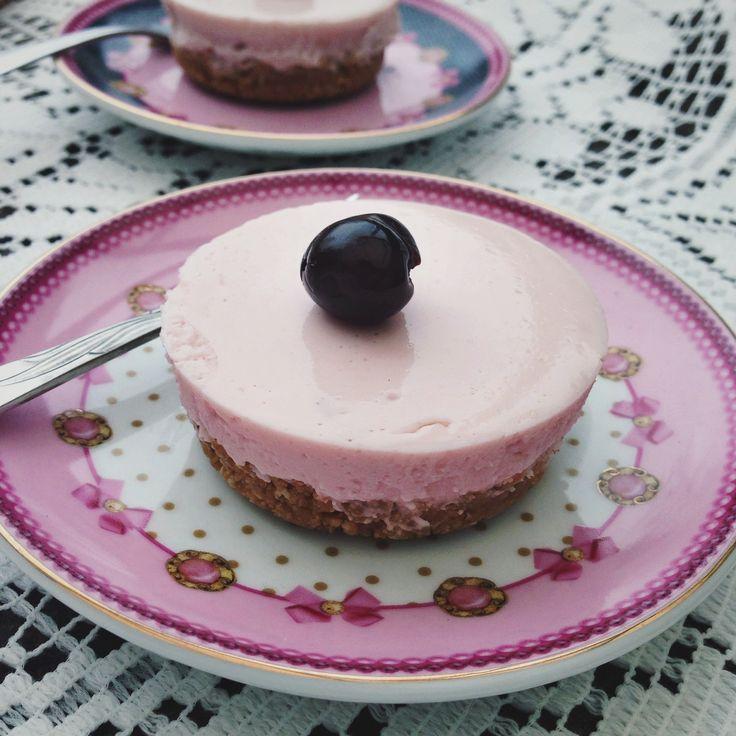 Cheesecake cupcakes met yoghurt, by Cookingdom
