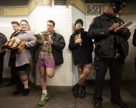 No Pants Subway Ride 2006