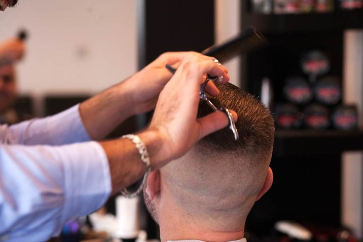 Modern professional haircut from your favourite  barber in hythe
