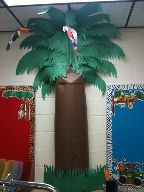 Rainforest Classroom Decoration Ideas ~ Best jungle theme decorations ideas on pinterest