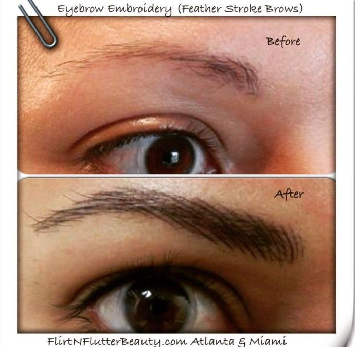 how to grow sparse eyebrows