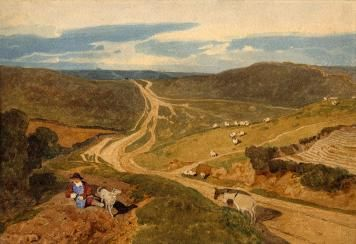 Mousehold Heath by John Sell Cotman