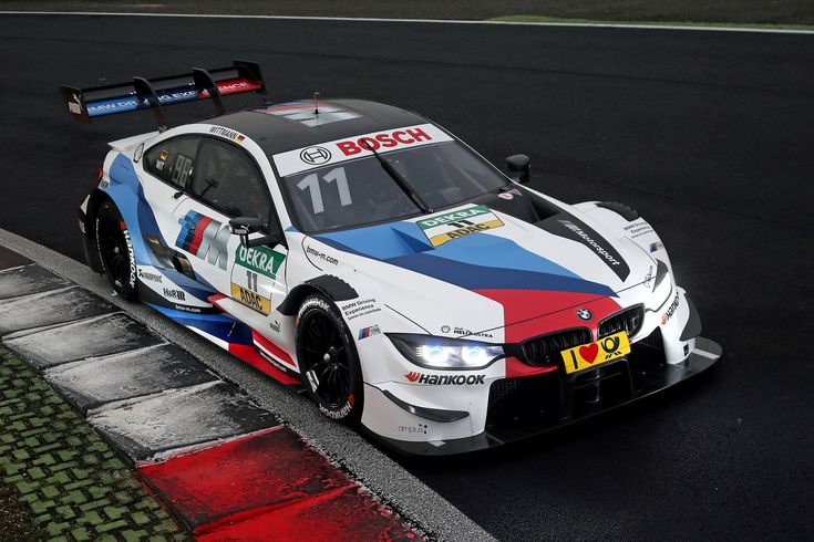 BMW Motorsport reinterprets traditional BMW M colours for the 2018 season
