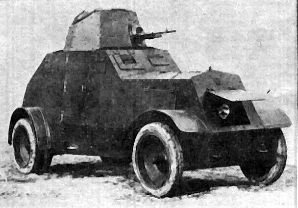 wz.29 Ursus armored car. Poland. 1931.