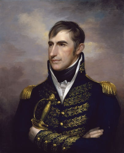 William Henry Harrison, ca. 1813.  Ninth President of the United States.  Painting by Rembrandt Peale (American, 1778-1860)