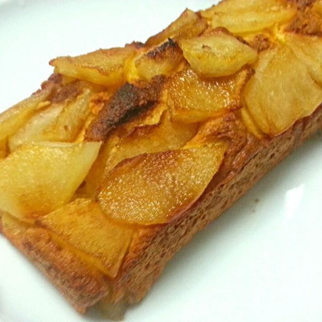 砂糖不使用! 梨の甘味がおいしくて幸せ - 10件のもぐもぐ - 梨ケーキ by こぢえ