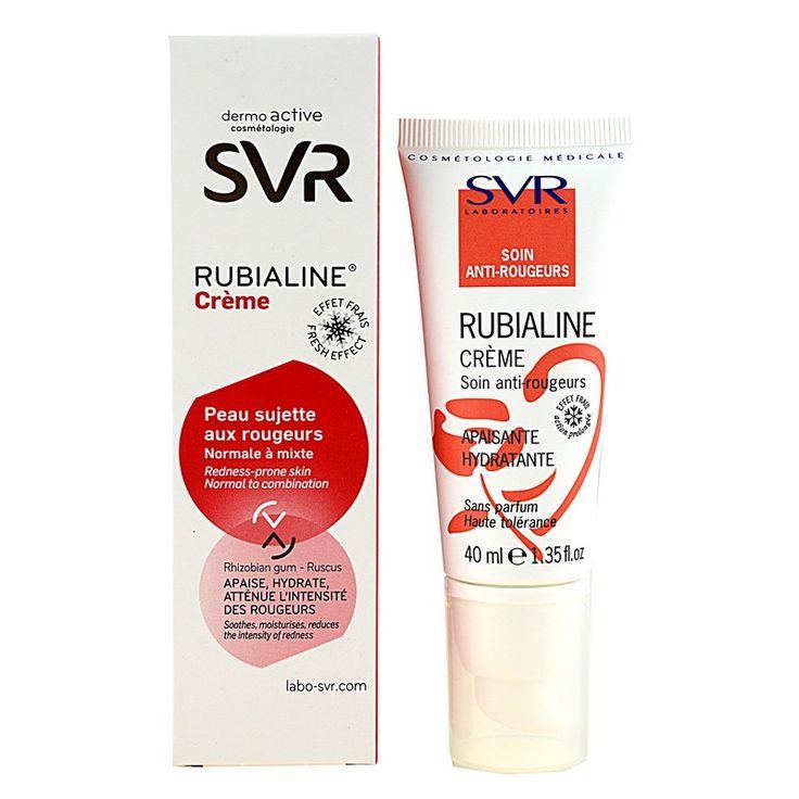 SVR Rubialine крем за лице  за нормална към смесена кожа