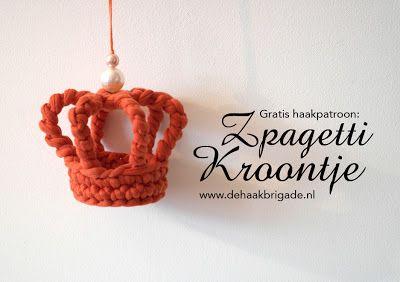 Patrones para Crochet: Broche Corona en Crochet. Tutorial