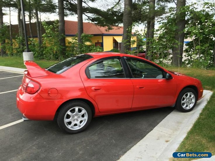 2005 Dodge Neon SXT Sedan 4-Door #dodge #neon #forsale #unitedstates