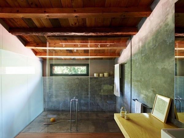 111 besten Badezimmer Bilder auf Pinterest Badezimmer, Gäste wc - badezimmer aus holz