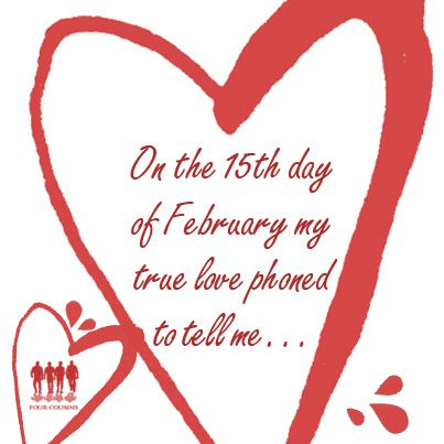 On the 15th day of February... #monthoflove #fclove