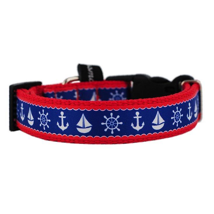 Obroża dla psa MARYNARSKIE WZORY Mysmo, marynarska obroża dla psa, marynarskie, Mysmo, Marine, Kotwice, obroże dla psów #obrożadlapsa #akcesoriadlapsów #dlapsa