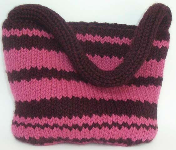 Uptown Tote Bag | Knitting patterns free, Easy patterns and Craft free