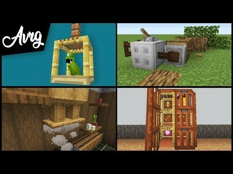Minecraft: 1.14 Cool Building Techniques and Decoration : DetailCraft