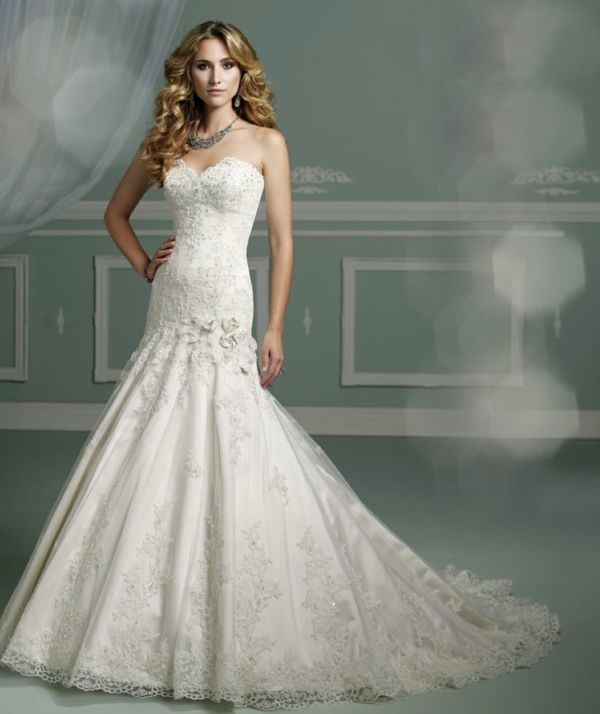 Sheer Long Chiffon Dress With Sweetheart Neckline David S Bridal