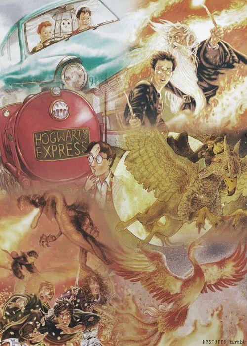 Harry Potter Book Art Hogwarts 78 Best images ...