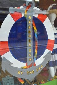 Fantastic shop window displays in town for Harborough by the Sea – thanks to all that have taken part.