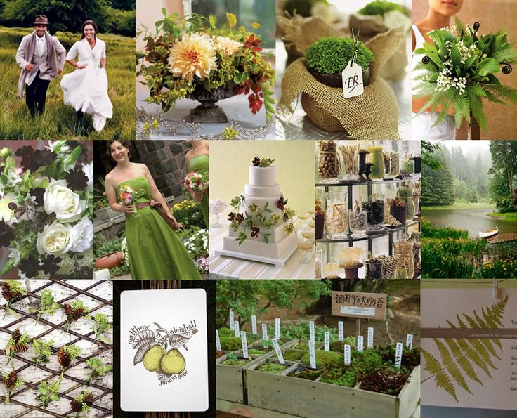 7 best images about inspired mood boards on pinterest for Wedding greenery ideas