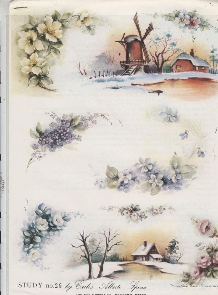 Study 26 by Carlos Alberto Spinas China Painting Study 1982 | eBay