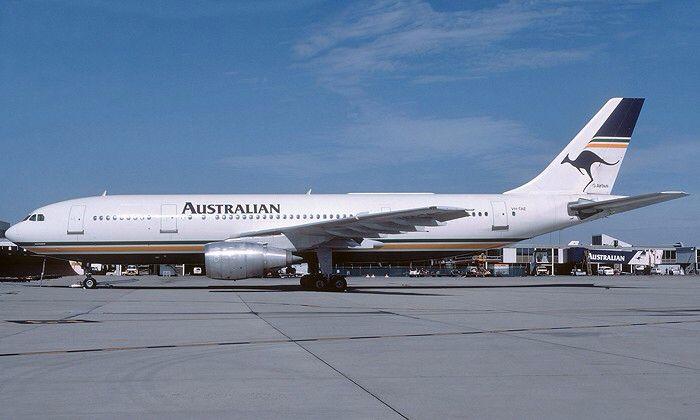 Australian Airlines Airbus A300B4-203 (VH-TAE)