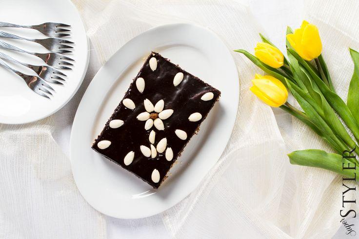 Mazurek makowy #przepis #kuchnia #ciasto #mazurek #wielkanoc #blog #superstyler