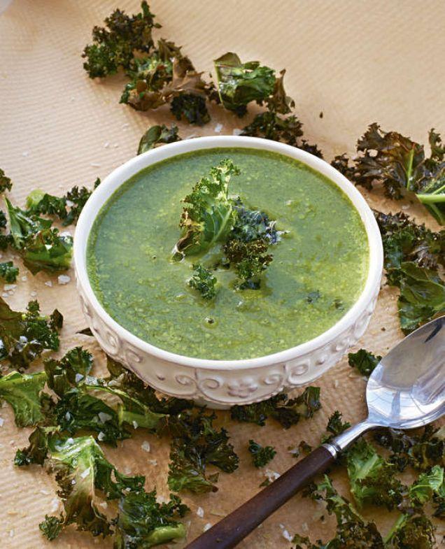 Grönt är...gott! Innehåller Totalt 102 kcal.