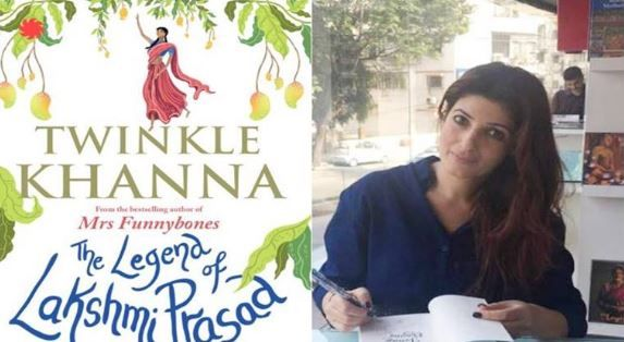 The Town Bird: A sneak peak into the Twinkle Khanna's New Book - The Legend Of Lakshmi Prasad
