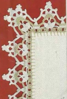 Patrón #1476: Puntilla a Crochet | CTejidas [Crochet y Dos Agujas]