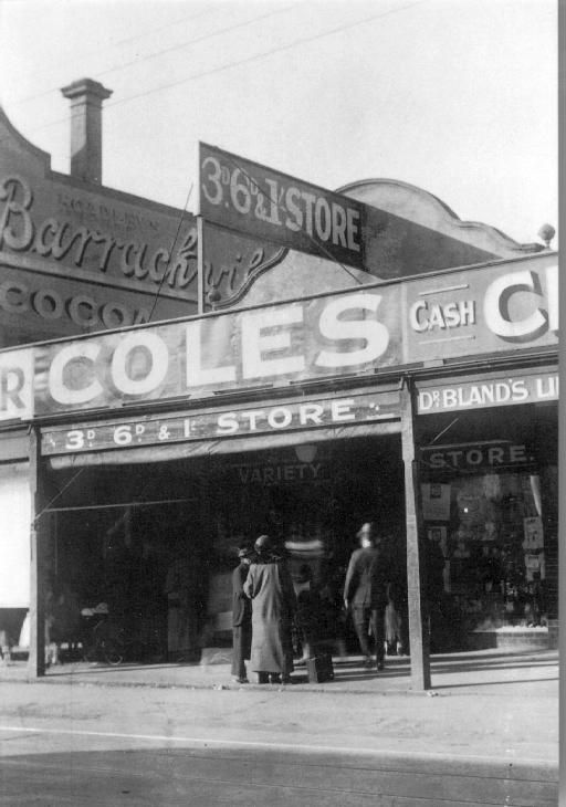 1914 - 1919 Coles first store, 288 Smith Street, Fitzroy