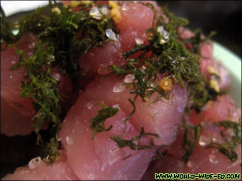 I love poke! Raw fish is awesome when it's done right!