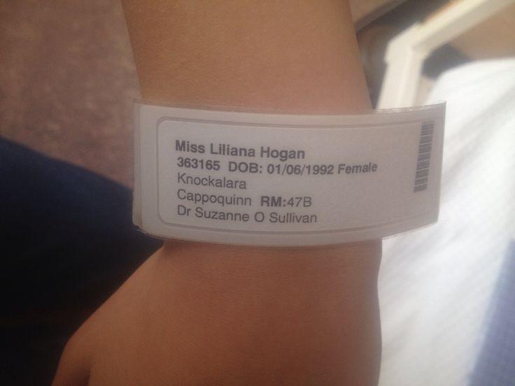 Hospital Wristband