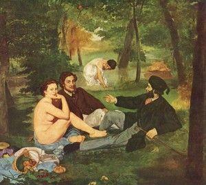 """Эдуард Мане """"Завтрак на траве"""""""