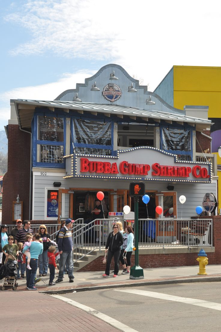 Bubba Gump Shrimp Co. is located in Gatlinburg and has some of the best seafood!