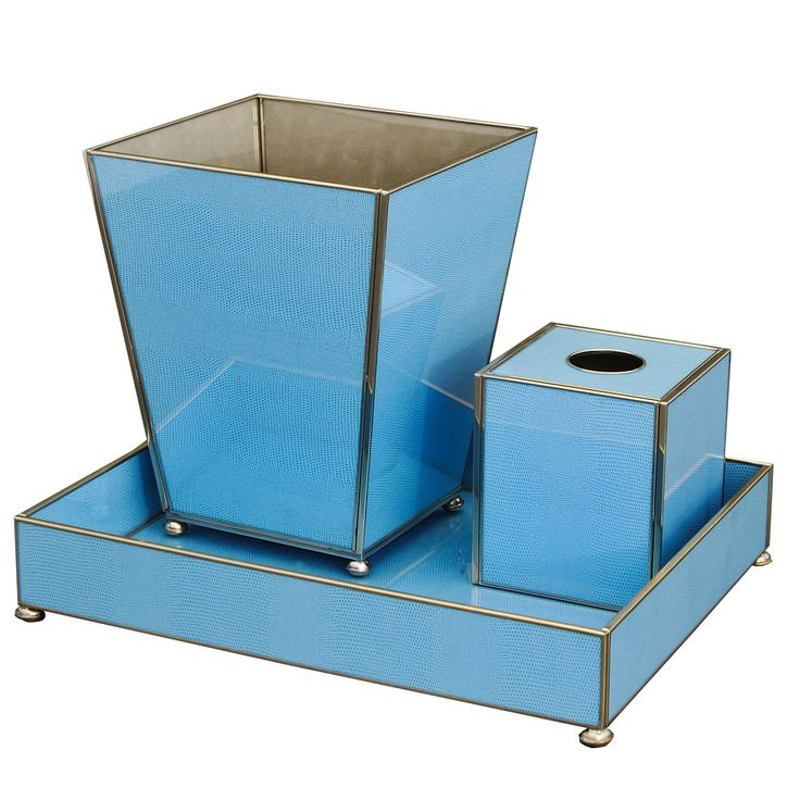 Blue Lizard Bathroom Vanity Set