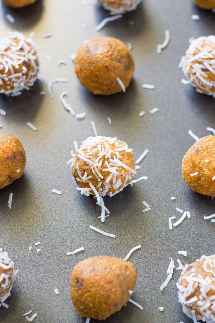 Raw carrot cake bliss balls - Becomingness