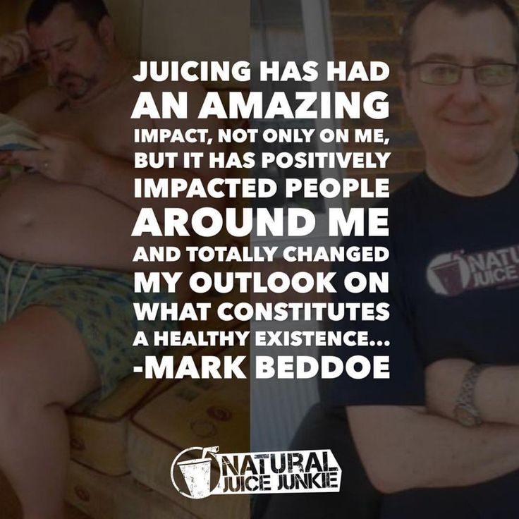 84 Pounds Lighter, Juicing Has Changed Mark's Life Beyond Measure