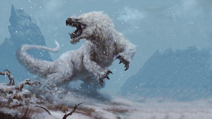 1920x1080 Snow Beast