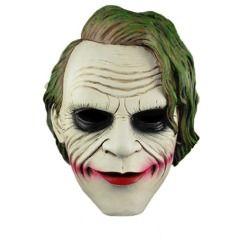 ECOSCO Joker Batman Dark Knight Mask Cosplay Movie Resin mask