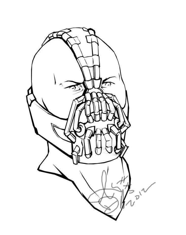 Bane Coloring Pages Bane Coloring Book Page By Free Coloring Pages Of Batman And Bane