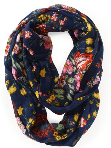 Seventeen's Favorite Fashion Finds - Cute Back-to-School Accessories - Seventeen - Floral Infinity Scarf