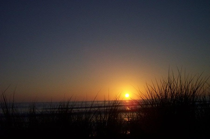 Morro Bay Sunset from the Dunes