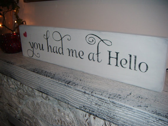 Decor and a great quote from Jerry Maguire