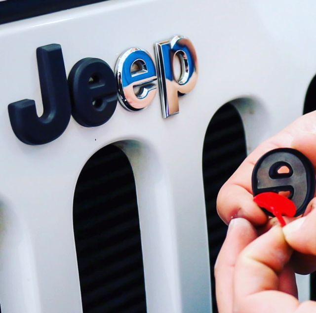 Jeep Wrangler Emblem Cover Dream Cars Jeep Jeep Wrangler