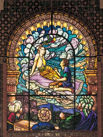 Renaissance Window Treatments Were Also Seen As Stained Glass Frescos That Usually Told A Story Or