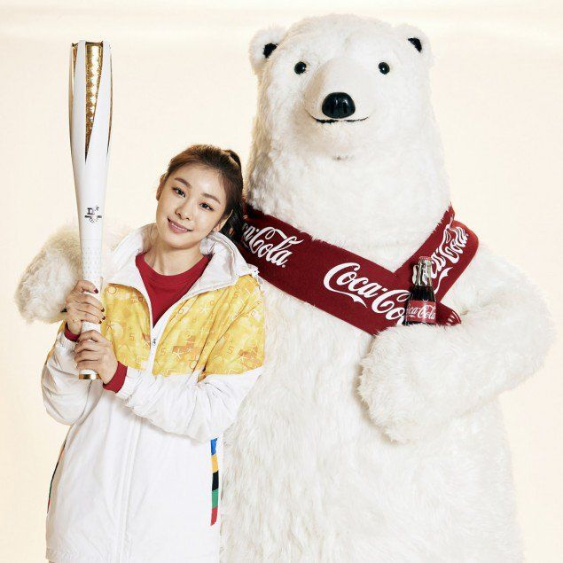 Park Bo Gum and Kim Yuna pair up for 'Coca-Cola' | allkpop.com