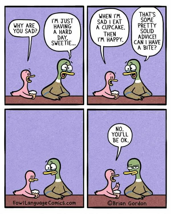 Fowl Language Comics - Kids Would Do Anything For Me, Almost