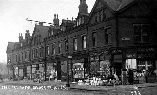 The Parade Dewsbury Road Cross Flatts Beeston. Frm Facebook Memories of Beeston.