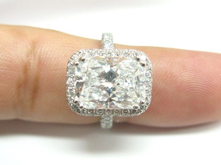 The Elegance And Beauty Of Radiant Cut Engagement Rings