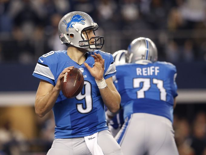 Starting quarterback: Matthew Stafford.